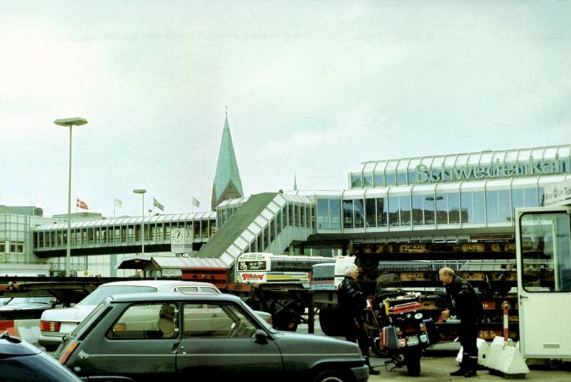 Киль порт 1993 год фото автора